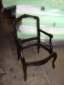 armchair frame