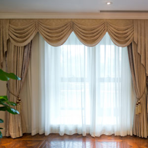 sheers, curtains