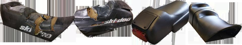 skidoo seat repair