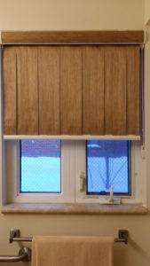 window coverings bathroom